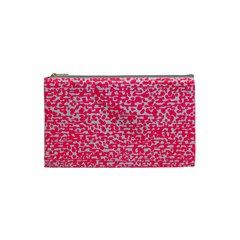 Template Deep Fluorescent Pink Cosmetic Bag (Small)