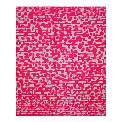 Template Deep Fluorescent Pink Shower Curtain 60  X 72  (medium)
