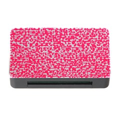 Template Deep Fluorescent Pink Memory Card Reader With Cf