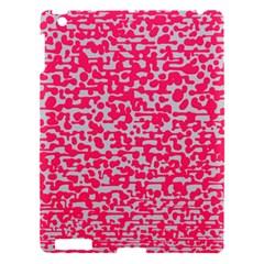 Template Deep Fluorescent Pink Apple Ipad 3/4 Hardshell Case