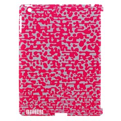 Template Deep Fluorescent Pink Apple Ipad 3/4 Hardshell Case (compatible With Smart Cover)