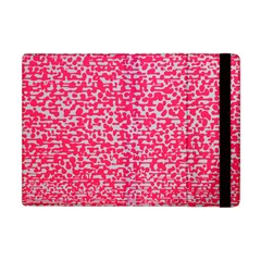 Template Deep Fluorescent Pink Apple Ipad Mini Flip Case