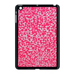 Template Deep Fluorescent Pink Apple Ipad Mini Case (black)