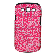 Template Deep Fluorescent Pink Samsung Galaxy S Iii Classic Hardshell Case (pc+silicone)