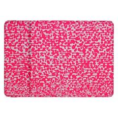 Template Deep Fluorescent Pink Samsung Galaxy Tab 8 9  P7300 Flip Case