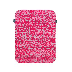 Template Deep Fluorescent Pink Apple Ipad 2/3/4 Protective Soft Cases