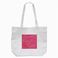 Template Deep Fluorescent Pink Tote Bag (white)