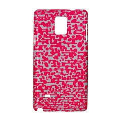 Template Deep Fluorescent Pink Samsung Galaxy Note 4 Hardshell Case