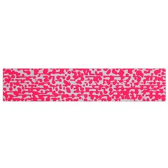 Template Deep Fluorescent Pink Flano Scarf (small)