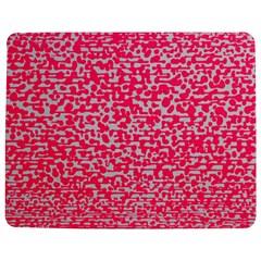 Template Deep Fluorescent Pink Jigsaw Puzzle Photo Stand (rectangular)
