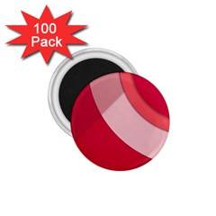 Red Material Design 1 75  Magnets (100 Pack)