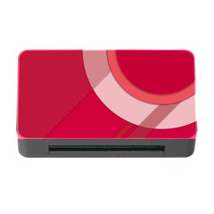 Red Material Design Memory Card Reader With Cf