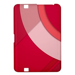 Red Material Design Kindle Fire Hd 8 9