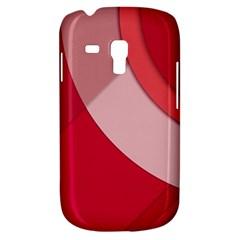 Red Material Design Galaxy S3 Mini