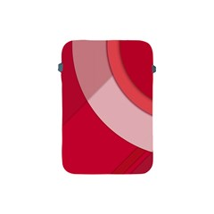 Red Material Design Apple Ipad Mini Protective Soft Cases