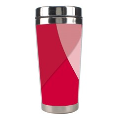 Red Material Design Stainless Steel Travel Tumblers