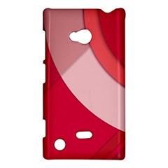 Red Material Design Nokia Lumia 720