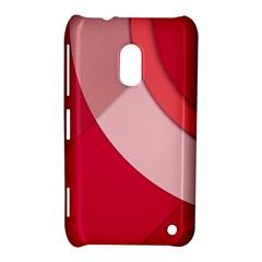 Red Material Design Nokia Lumia 620