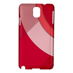 Red Material Design Samsung Galaxy Note 3 N9005 Hardshell Case