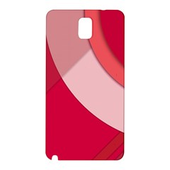 Red Material Design Samsung Galaxy Note 3 N9005 Hardshell Back Case