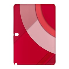 Red Material Design Samsung Galaxy Tab Pro 12 2 Hardshell Case