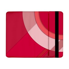 Red Material Design Samsung Galaxy Tab Pro 8 4  Flip Case
