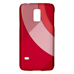 Red Material Design Galaxy S5 Mini
