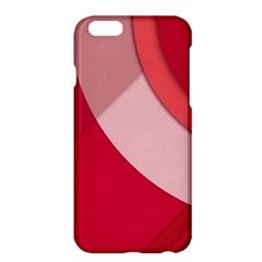 Red Material Design Apple Iphone 6 Plus/6s Plus Hardshell Case