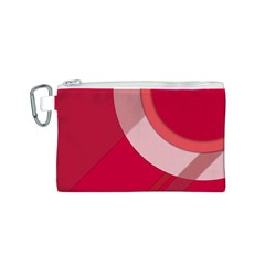 Red Material Design Canvas Cosmetic Bag (s)