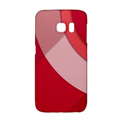 Red Material Design Galaxy S6 Edge
