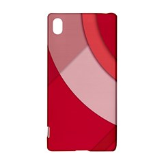 Red Material Design Sony Xperia Z3+