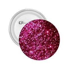 Pink Glitter 2 25  Buttons
