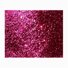 Pink Glitter Small Glasses Cloth