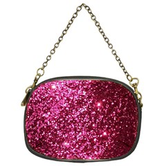 Pink Glitter Chain Purses (One Side)