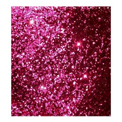 Pink Glitter Shower Curtain 66  X 72  (large)