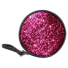 Pink Glitter Classic 20 Cd Wallets