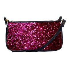 Pink Glitter Shoulder Clutch Bags
