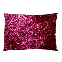 Pink Glitter Pillow Case (two Sides)