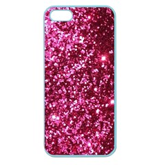 Pink Glitter Apple Seamless Iphone 5 Case (color)