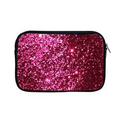 Pink Glitter Apple Ipad Mini Zipper Cases