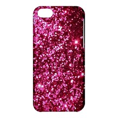 Pink Glitter Apple Iphone 5c Hardshell Case