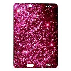 Pink Glitter Amazon Kindle Fire Hd (2013) Hardshell Case