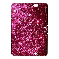 Pink Glitter Kindle Fire Hdx 8 9  Hardshell Case