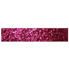 Pink Glitter Flano Scarf (small)