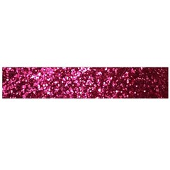 Pink Glitter Flano Scarf (large)