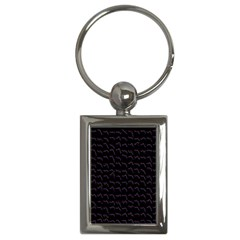 Smooth Color Pattern Key Chains (rectangle)