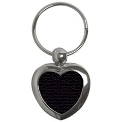 Smooth Color Pattern Key Chains (heart)