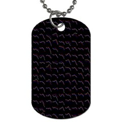 Smooth Color Pattern Dog Tag (one Side)