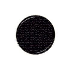 Smooth Color Pattern Hat Clip Ball Marker (4 Pack)