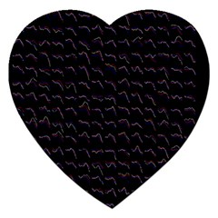 Smooth Color Pattern Jigsaw Puzzle (heart)